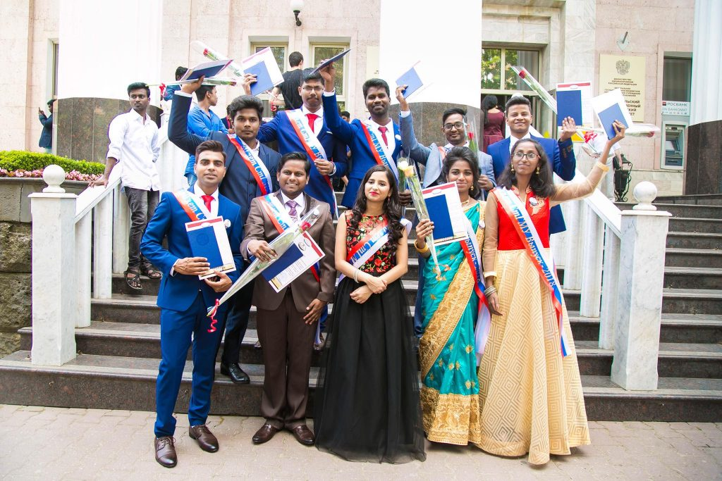 Convocation ceremony 2018- happy faces after getting degree